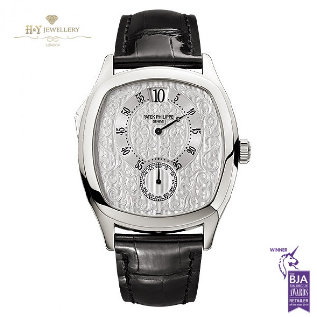 Patek Philippe Chiming Jump Hour 175th Anniversary Platinum Limited Edition of 175 pieces- ref 5275P-001