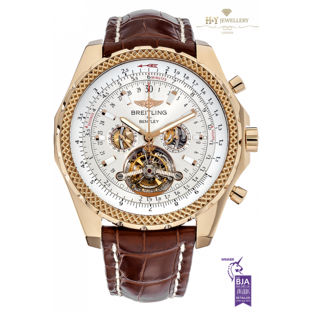 Breitling Mulliner Tourbillon Rose Gold For Bentley