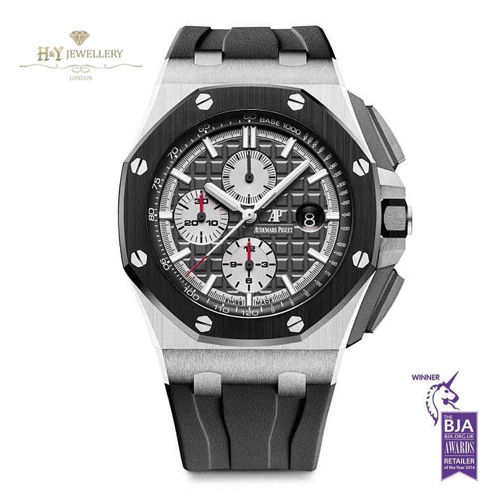 Audemars piguet royal oak offshore chronograph titanium ref 26400io oo for Ap royal oak offshore chronograph