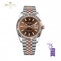 Rolex Date Just Two Tone - ref 126331