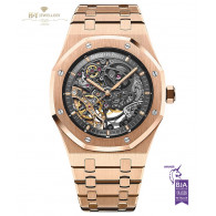Audemars Piguet Royal Oak Double Balance Wheel Open Worked Rose gold - ref 15407OR.OO.1220OR.01