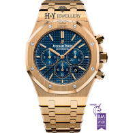 Audemars Piguet Royal Oak Chronograph Yellow Gold - ref 26320BA.OO.1220BA.02