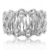 White Gold Grande Bracelet With Diamonds