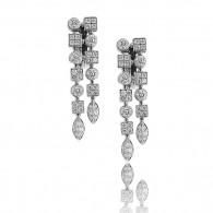 Bvlgari Lucea Earrings With Brilliant Cut Diamonds