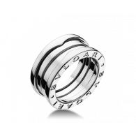 Bvlgari White Gold B.Zero1 Collection Ring