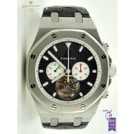 Audemars Piguet Tourbillon Chronograph Titanium Limited Edition of 6 pieces - ref 25977TI.OO.D002CR.01