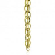 Yellow Gold Chain Bracelet