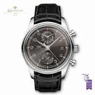 IWC Portuguese Chronograph Steel - ref IW390404