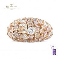 Fancy Mix Diamond Ring - 6.76 ct