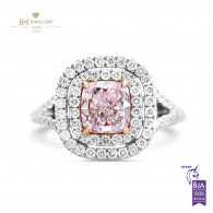 Fancy Light Pink Diamond Ring - 1.17 ct