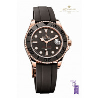 Rolex Yacht Master 37mm Rose Gold - ref 268655