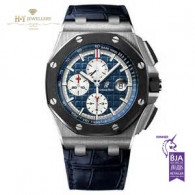 Audemars Piguet Royal Oak Offshore Chronograph Platinum and Ceramic - ref 26401PO.OO.A018CR.01