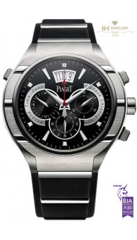 Piaget Polo FortyFive Titanium  GMT- ref G0A34002