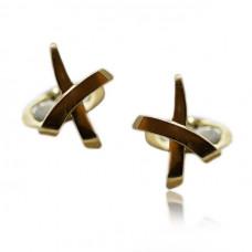 Yellow Gold Cartier Design Cufflinks
