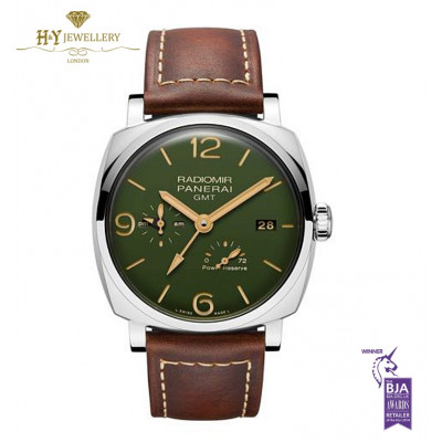 Panerai Radiomir GMT Steel Limited edition of 1000 pieces - ref PAM00999