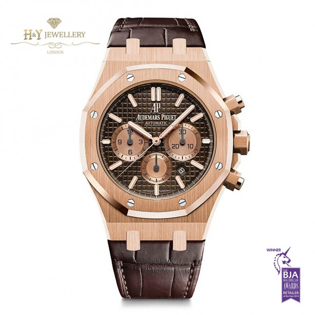 Audemars Piguet Royal Oak Chronograph Rose Gold - ref 26331OR.OO.D821CR.01