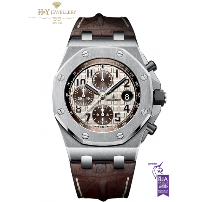 Audemars Piguet Royal Oak Offshore Chronograph Safari Steel Ref 26470st Oo A801cr 01
