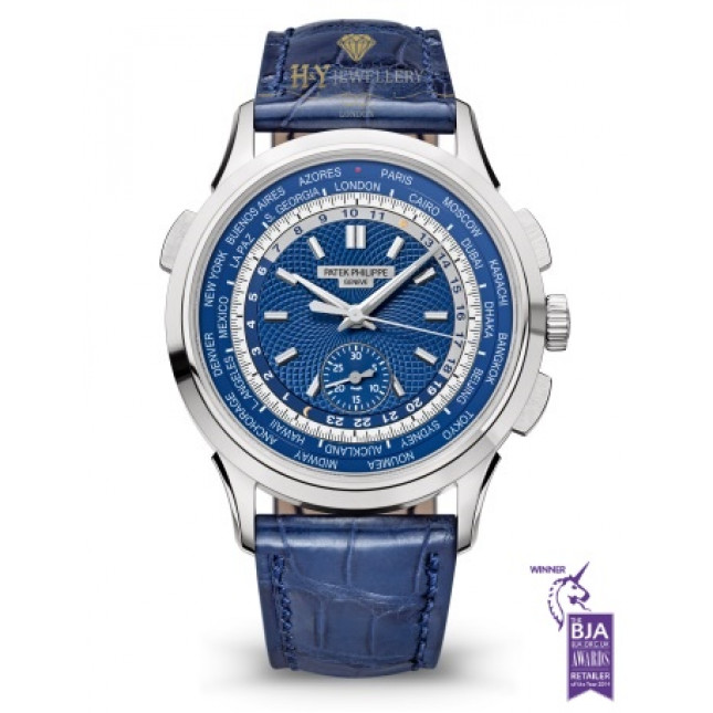 Patek Philippe Complications World Time White gold - ref 5930G-010