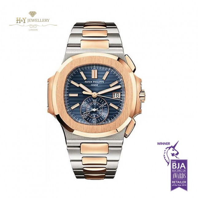 Patek Philippe Nautilus Chronograph Rose Gold And Steel - ref 5980/1AR-001