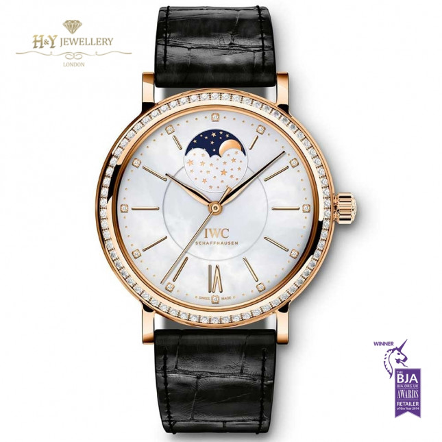 IWC Portofino MoonPhase Rose Gold - IW459002