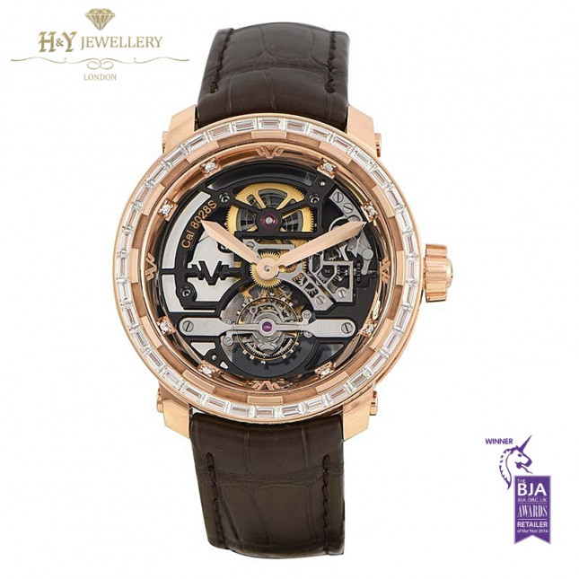 DeWitt Twenty-8-Eight Skeleton Tourbillon Rose Gold