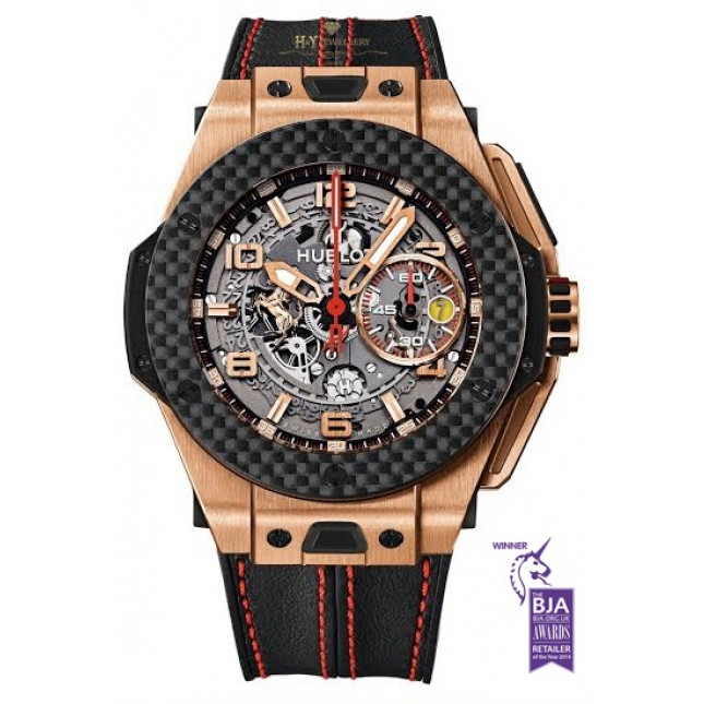Hublot Big Bang Ferrari Rose Gold And Carbon - ref 401.OQ.0123.VR - Price Inc VAT