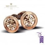 Patek Philippe Calatrava Cross Cufflinks Rose Gold - ref 205.9089