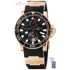 Ulysse Nardin Black Surf Limited Edition of 500 pieces Rose gold - ref 266-37
