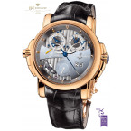 Ulysse Nardin Sonata Silicium Limited Edition of 500 pieces Rose gold - ref 676-85