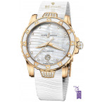 Ulysse Nardin Ladies Diver Rose Gold - ref 8156-180