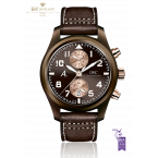 IWC Pilot Chronograph Brown Ceramic The Last Flight Saint Exupery Limited Edition of 170 pieces - ref IW388006