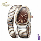 Bvlgari Serpenti Tubogas Two Tone with Diamonds - ref 103071