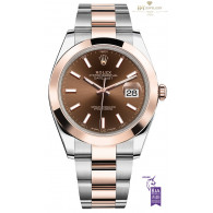 Rolex DateJust Steel and Rose gold - ref 126301
