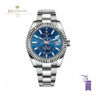 Rolex Sky-Dweller Steel and White Gold - ref 326934