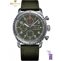 Breitling Aviator 8 '' Curtiss Warhawk''  Chronograph Stainless Steel  - ref A133161A1L1X1