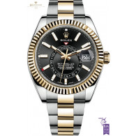 Rolex Sky Dweller Steel and Yellow Gold - Ref 326933