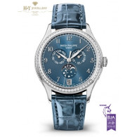 Patek Philippe Complications White Gold with factory diamonds - ref 4947G-001 [ Discontinued ]