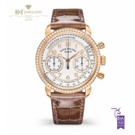 Patek Philippe Complications Chronograph for Ladies Rose gold with Diamonds - ref 7150/250R-001