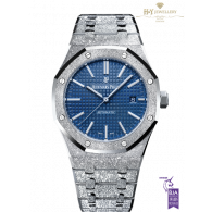 Audemars Piguet Royal Oak Frosted Gold White Gold [ LIMITED EDITION OF 200 ] - ref 15410BC.GG.1224BC.01