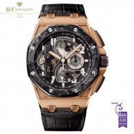 Audemars Piguet Royal Oak Offshore Tourbillon Chronograph Rose Gold [ DISCONTINUED ] - ref 26288OF.OO.D002CR.01