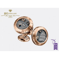 Breguet Marine Royale Cufflinks Rose gold - ref 9905BR5847