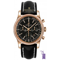 Breitling Transocean Chronograph Rose Gold - ref RB015253/BB16