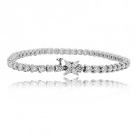 Tiffany & Co Diamond Tennis Bracelet