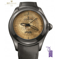 Corum Bubble Heritage Paiste Limited Edition of 350 pieces Black Steel - ref 110.310.98.0061PA01R