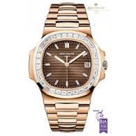 Patek Philippe Nautilus Rose Gold with Diamonds - ref 5723/1R-010