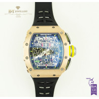 Richard Mille Felipe Massa Flyback Chronograph Rose gold and Titanium - ref RM011-03