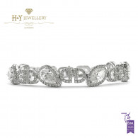 Mixed Cut Diamond Bracelet - 11.41 ct