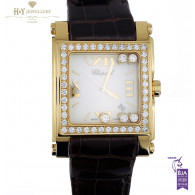 Chopard Happy Sport Yellow Gold with Diamonds - ref 283569-0001