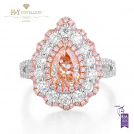 Fancy Brown Orange Diamond Ring - 2.23 ct