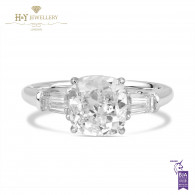 Cushion Cut Engagement Ring - 2.52 ct